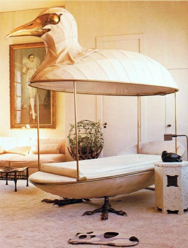 40 au ergew hnliche betten als originelle accessoires zu hause. Black Bedroom Furniture Sets. Home Design Ideas