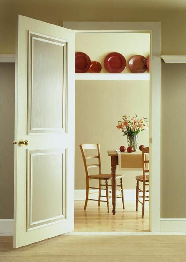 innentüren weiß wandgestaltung tür sind gleichartig