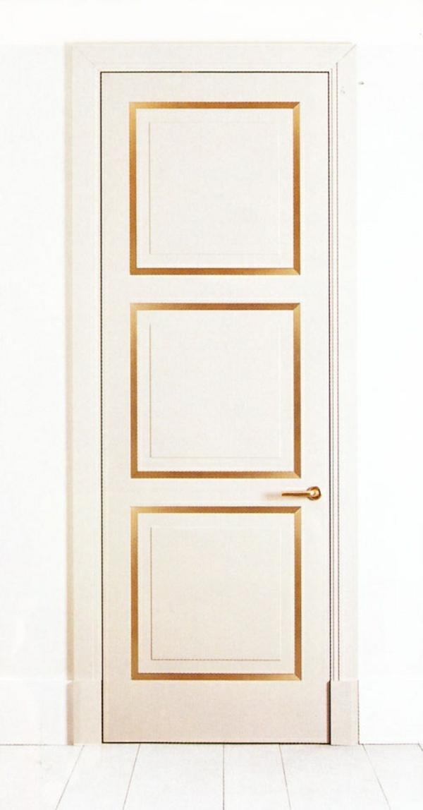 interior design ideen weiße innentüren akzente