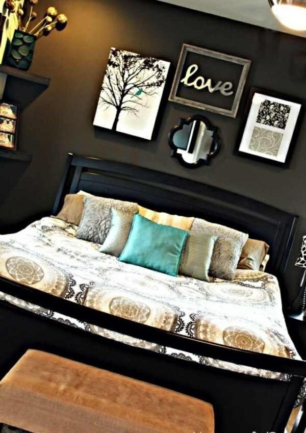 Schlafzimmer Dunkle Farben | Möbelideen, Schlafzimmer Entwurf