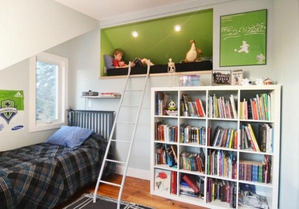 20 komfortable jugendzimmer mit dachschr ge gestalten - Tiener mezzanine ...