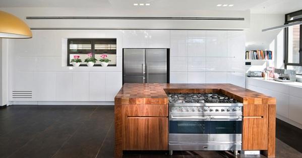 küche einrichten minimalistisch elephant kitchen kücheninsel aus holz