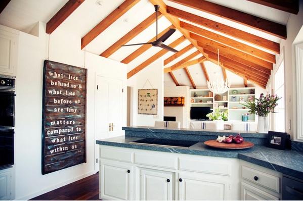 küche einrichten minimalistisch skaninavisch landhausstil san francisco