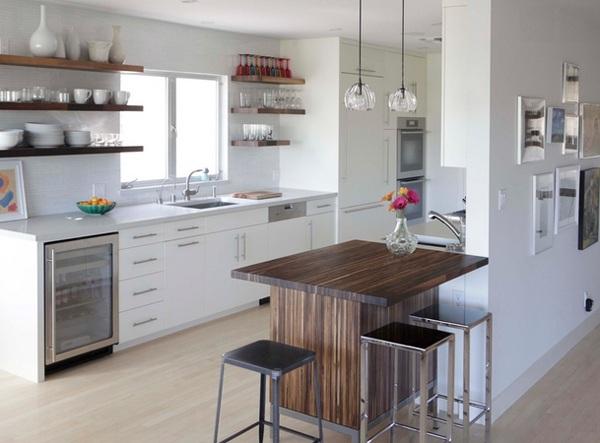 küche einrichten minimalistisch skaninavisch los angeles