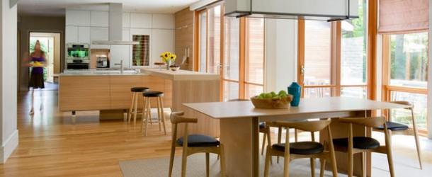 küche einrichten minimalistischer skaninavischer stil