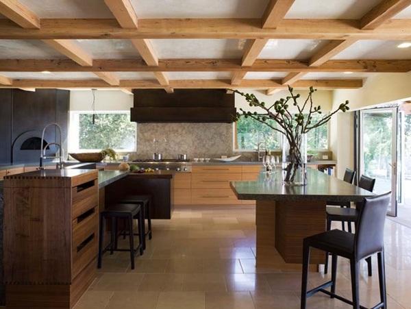 küche gestalten im asiatischen stil rustikale japanische küchendesign orinda