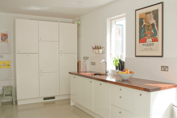 k che einrichten 15 tolle ideen im minimalistischen stil. Black Bedroom Furniture Sets. Home Design Ideas