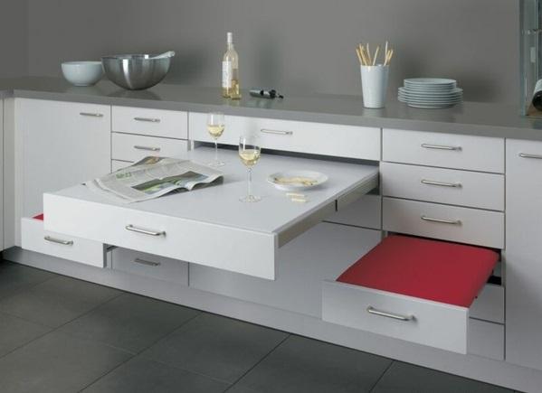 küche schubladeneinteilung praktische ideen