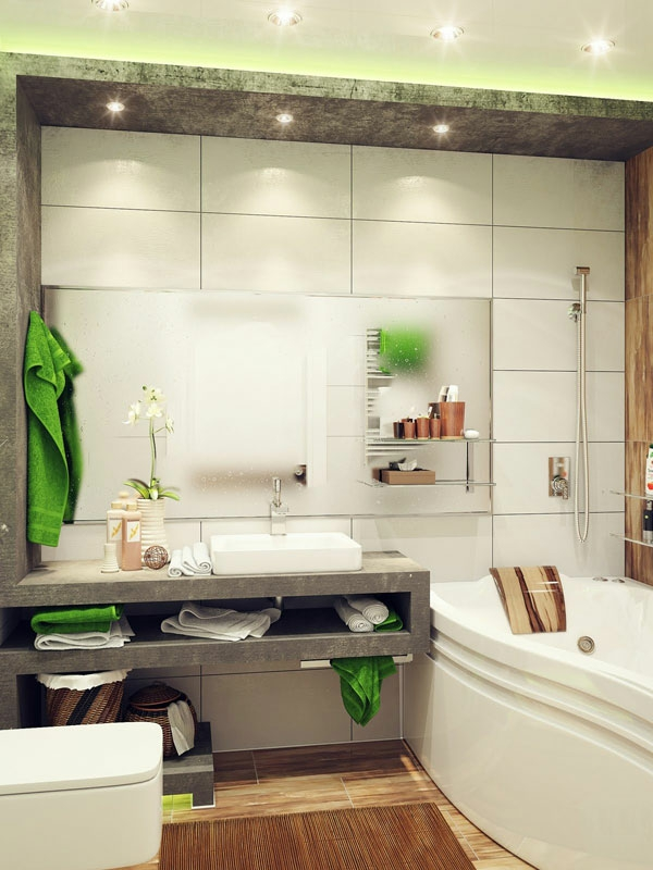 kleines bad einrichten aktuelle badezimmer ideen. Black Bedroom Furniture Sets. Home Design Ideas