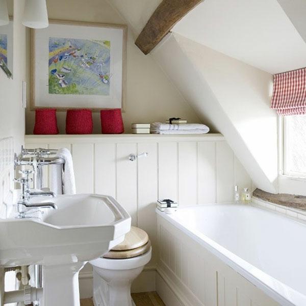 Kleines bad einrichten aktuelle badezimmer ideen for Kleines dachfenster