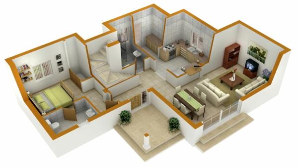 raumplaner kostenlose 3 raumplaner. Black Bedroom Furniture Sets. Home Design Ideas
