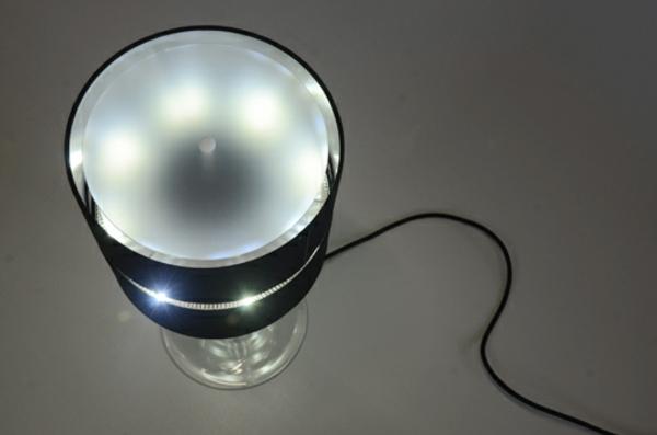 lampen design klassiker crealev floating lamp von oben