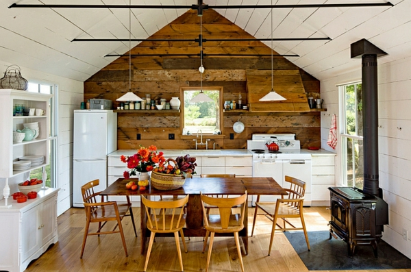 Landhaus Einrichtung Ideen Küche Und Esszimmer