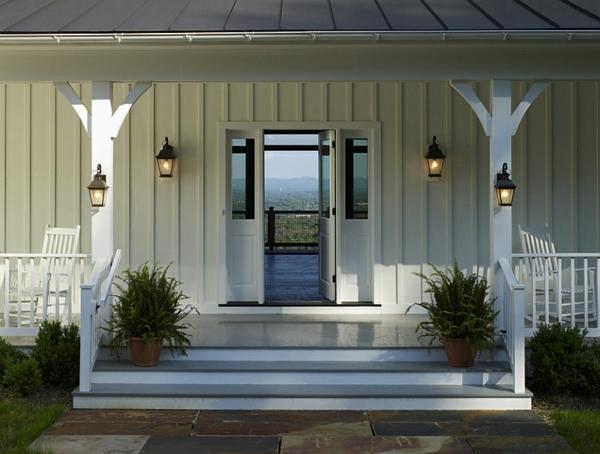 landhaus einrichtung patio laternen