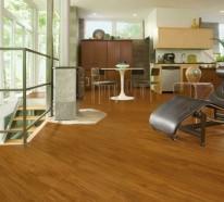 linoleum bodenbelag in holzoptik moderne alternative zum. Black Bedroom Furniture Sets. Home Design Ideas