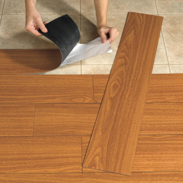 Bodenbeläge linoleum holzoptik  Linoleum Bodenbelag in Holzoptik - moderne Alternative zum Holzboden