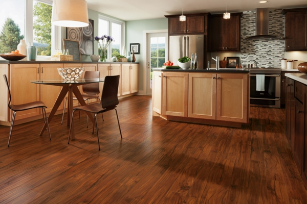 Linoleumboden  Linoleum Bodenbelag in Holzoptik - moderne Alternative zum Holzboden
