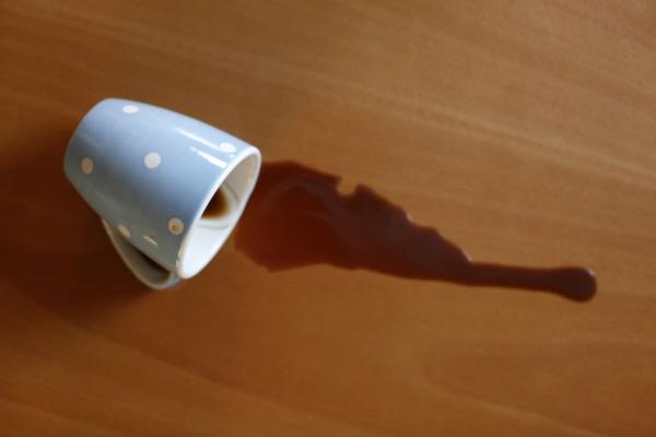 linoleumboden holzoptik holzküche esszimmer pflege