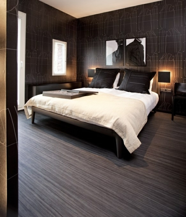 linoleum bodenbelag in holzoptik moderne alternative zum holzboden. Black Bedroom Furniture Sets. Home Design Ideas