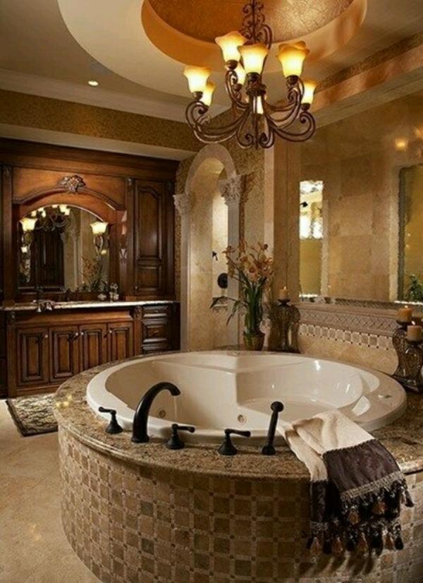 luxus badezimmer ideen für einrichtung freistehende badewanne