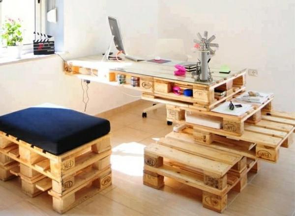 m bel aus holzpaletten selber basteln. Black Bedroom Furniture Sets. Home Design Ideas