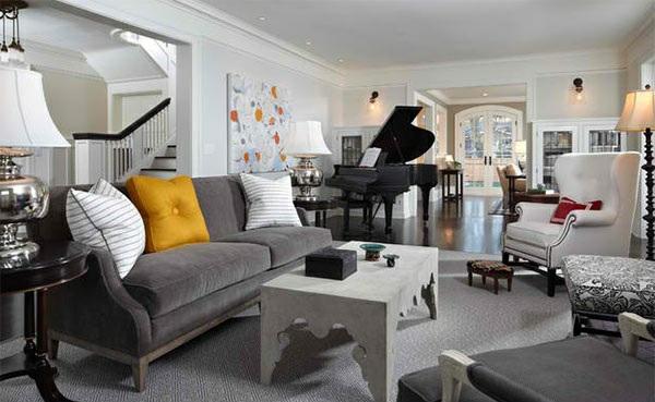 wohnzimmer möbel - wenn das klavier dazu zählt - 15 beispiele - Grose Wohnzimmer Einrichten