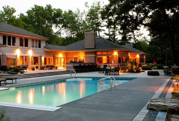 101 erstaunliche bilder von pool im garten for Gartenpool eingebaut