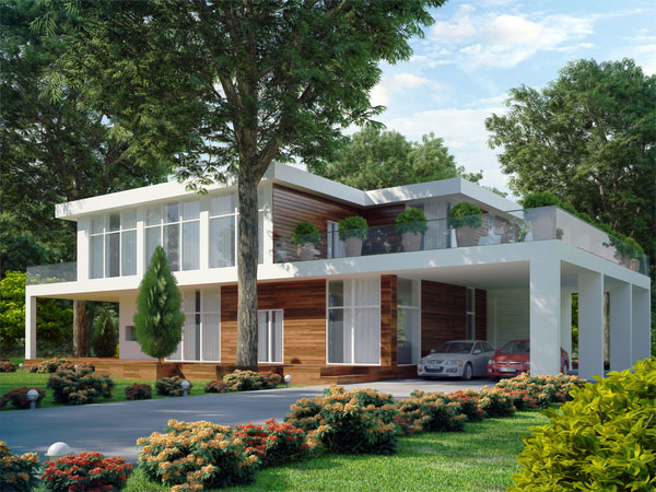 15 moderne architektenh user die sie sehen sollen. Black Bedroom Furniture Sets. Home Design Ideas