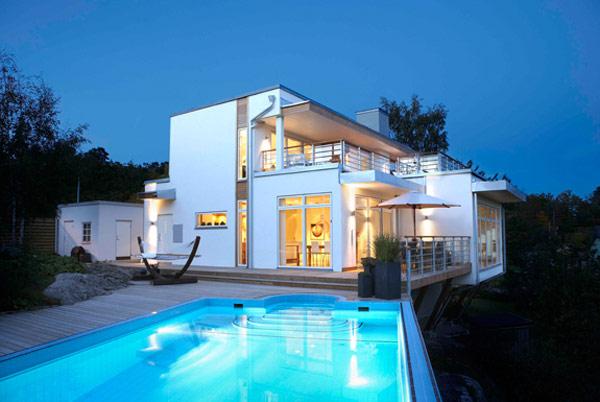 Moderne architektenhäuser mit pool  15 moderne Architektenhäuser, die Sie sehen sollen