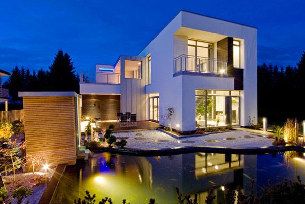 15 moderne architektenh user die sie sehen sollen for Garten pool coop