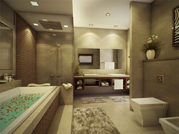 Badezimmer Beleuchtung Ideen : Moderne Badezimmer Ideen 15 Bilder Pictures to pin on Pinterest