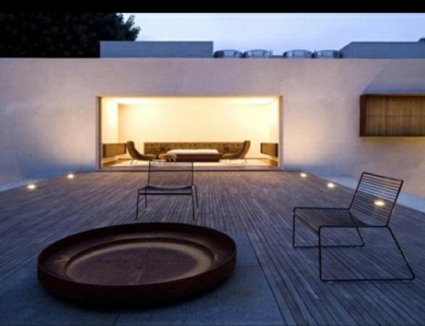 moderne dachterrasse designideen sitzecke