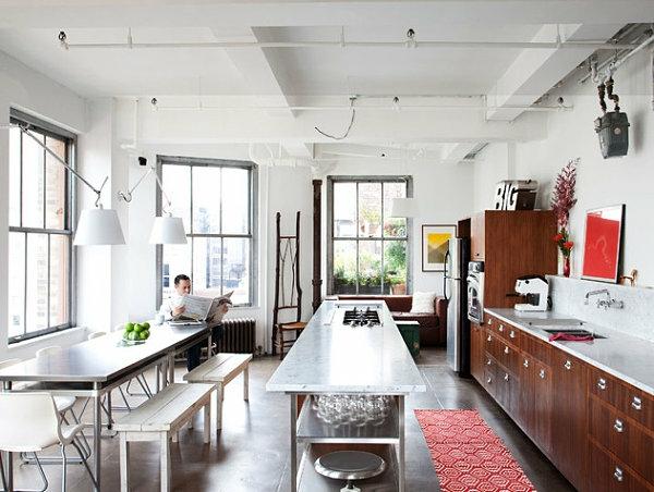 Edelstahl Küche - verschönern Sie Ihre Kücheninsel