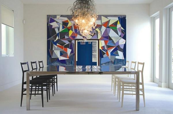moderne esszimmer gestalten eszimmermöbel minimalistisch schlicht