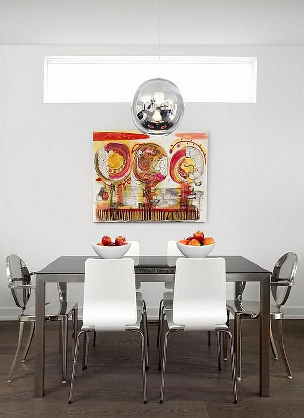 Beautiful Die Elegante Ausstrahlung Vom Modernen Esszimmer Design ...