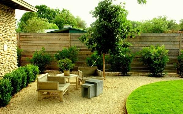 moderne gärten bilder beispiele gartengestaltung bodenbelag