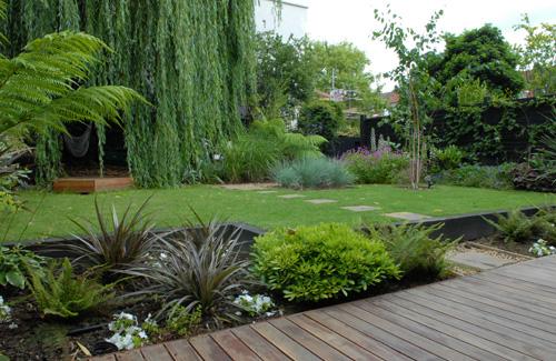 moderne gärten bilder terrassengestaltung holz