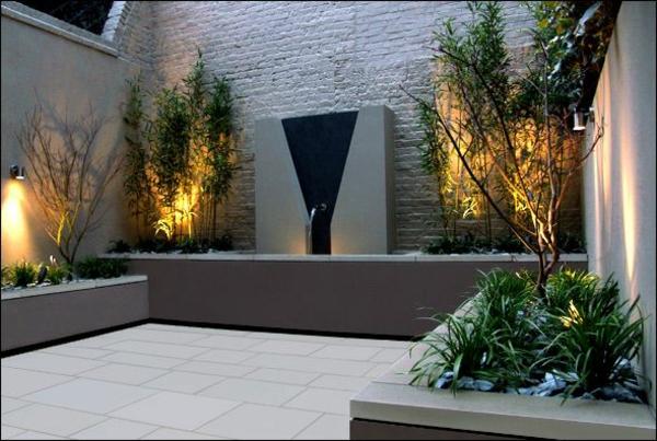 moderne gartengestaltung beispiele pflanzen