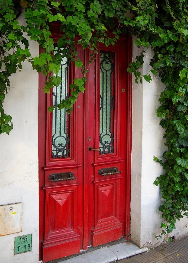 Moderne Haustüren In Farbe 15 Coole Farbgestaltung Ideen