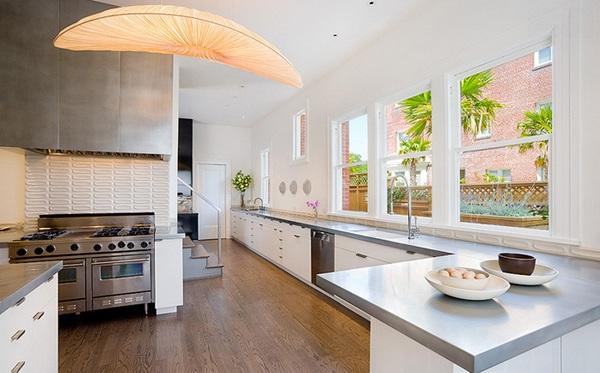 moderne küche einrichten schlicht minimalistisch san francisco