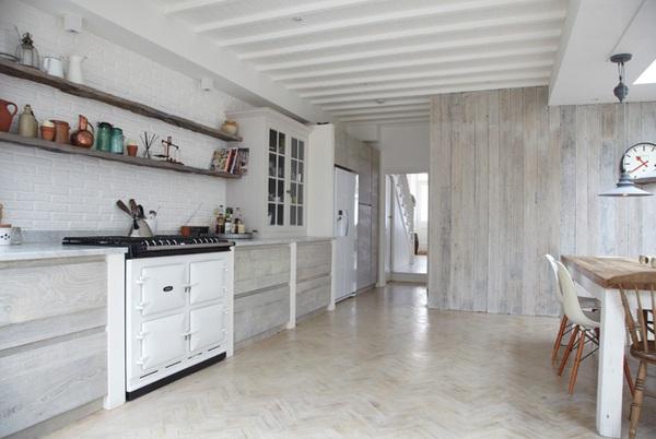 moderne küche einrichten schlicht minimalistisch