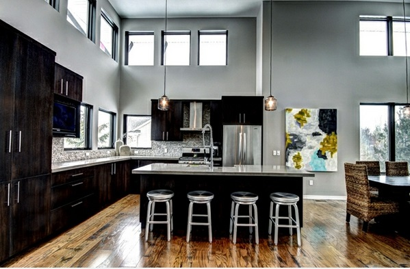 15 atemberaubende moderne Küchen in der L - Form | {Moderne küche l form 39}