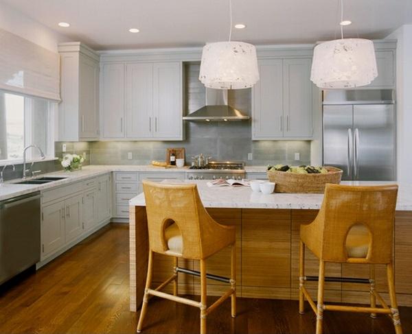 moderne küchen l förmig holzmöbel kücheninsel