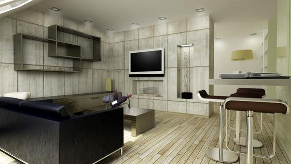 moderne minimalistische wohnzimmergestaltung ideen farben design