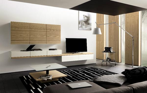 21 hinreißende moderne, minimalistische Wohnzimmergestaltung