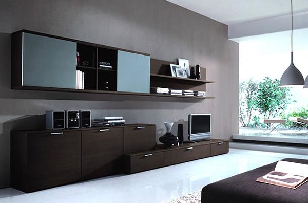 moderne minimalistische wohnzimmergestaltung ideen hängelampe
