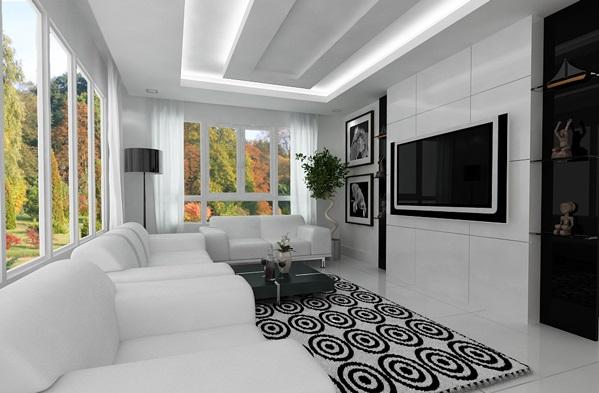 Wohnzimmergestaltung  21 hinreißende moderne, minimalistische Wohnzimmergestaltung