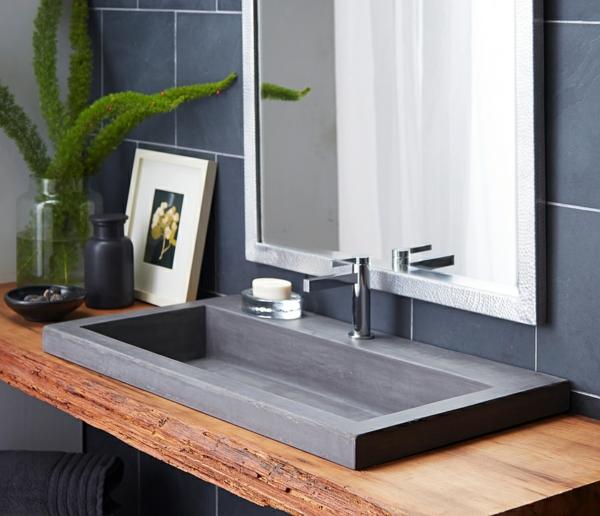 Moderne badezimmermöbel doppelwaschbecken  Badezimmer Waschtischunterschrank: Badmoebel guenstig gaeste wc ...