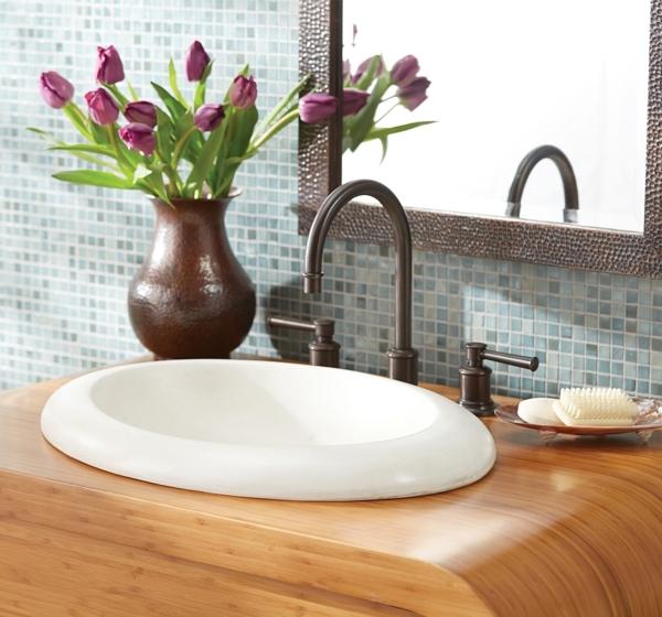moderne waschbecken per hand gefertigt und umweltfreundlich. Black Bedroom Furniture Sets. Home Design Ideas