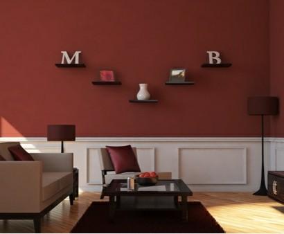 Wohnzimmer braun gestalten